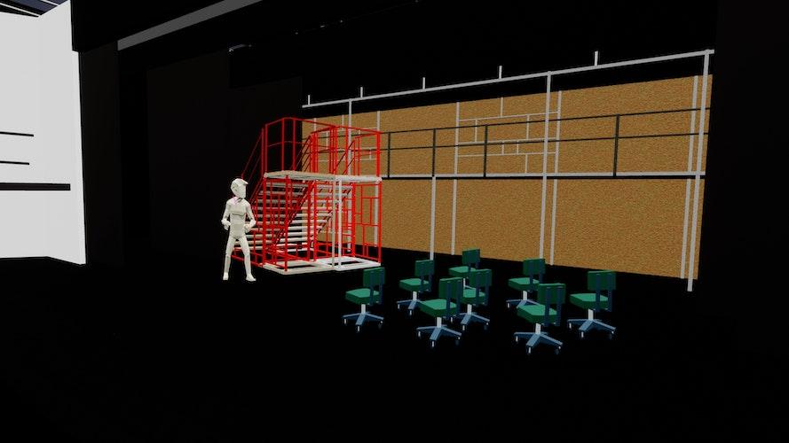 Arbeiten im virtuellen Raum: Vincent Kaufmann hat mittlerweile mehr als 15 verschiedene VR-Programm gründlich untersucht. Foto: Kaufmann