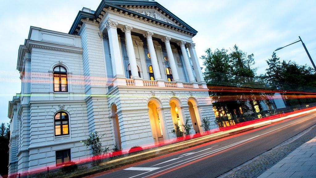 Das Staatstheater Oldenburg. Foto: dpa