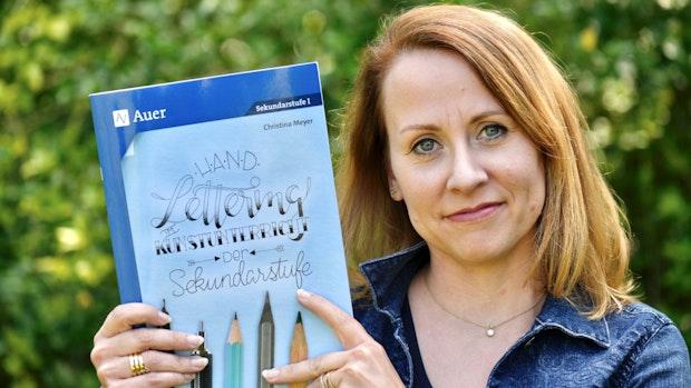 Christina Meyer und die Kunst der schönen Buchstaben