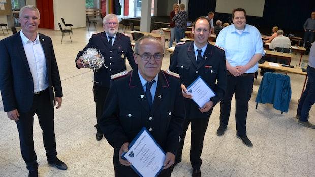 Walter Schumacher führt die Feuerwehr