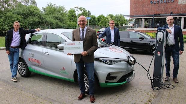 E-Car-Sharing in Damme verzögert sich wegen Corona