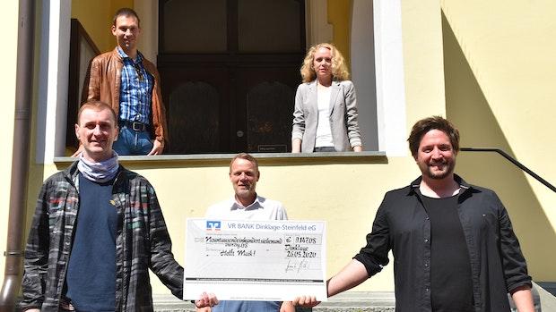 """Benefizkonzert bringt 9.000 Euro für die Aktion """"Helft Maik"""""""