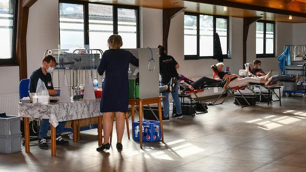 Malteser freuen sich über Beteiligung beim Blutspenden