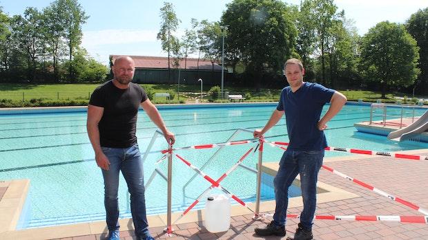 In Steinfeld kann wieder geschwommen werden