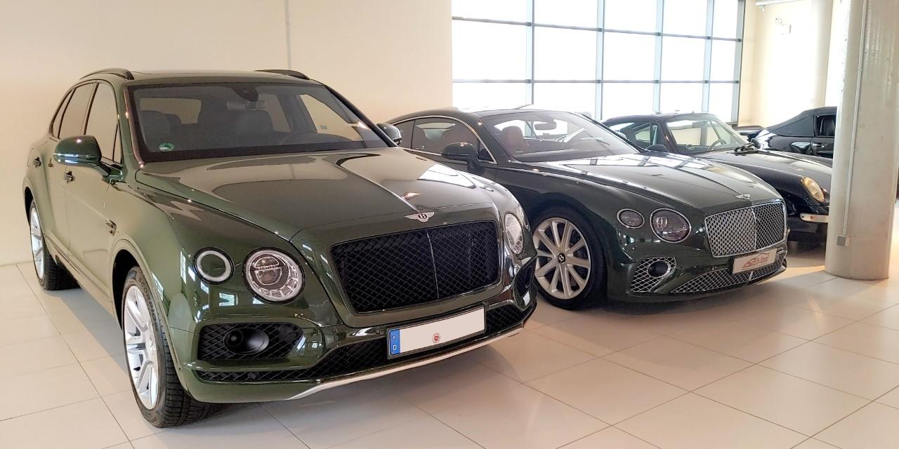 Kürzlich noch in Hausstette, jetzt in Bayern: Die Ermittler stellten <br>Bentleys der Familie in Starnberg sicher.&nbsp; Foto: Staatsanwaltschaft