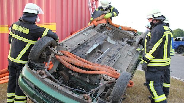 Feuerwehr kehrt in den Übungsbetrieb zurück