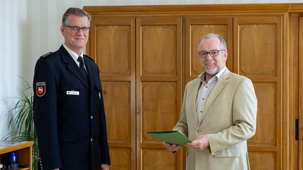 Jörn Kreikebaum wird neuer Polizeichef