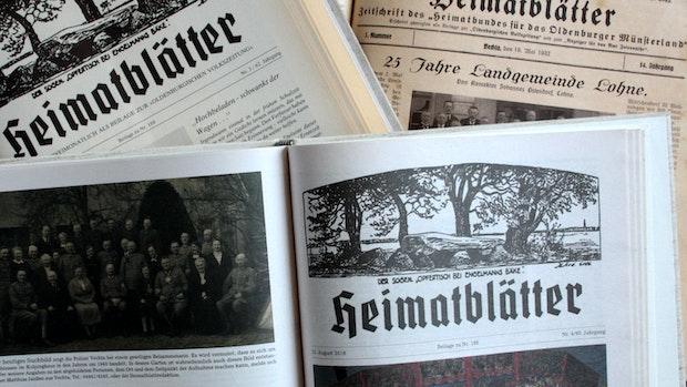 100 Jahre Heimatblätter: Im Mosaik der Landeskunde