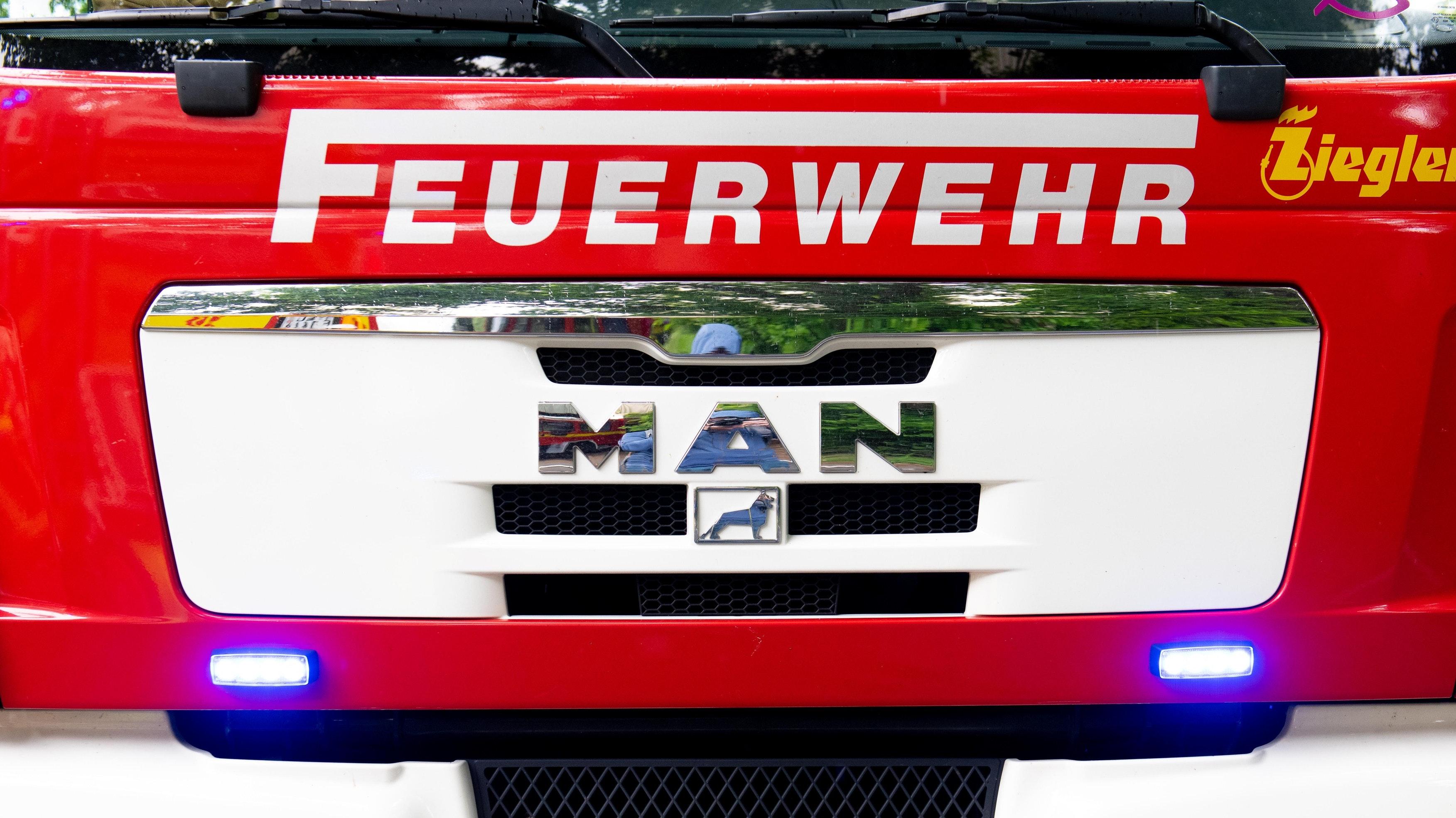 Die Feuerwehr war am Freitagmorgen in Damme im Einsatz. Foto: Chowanietz