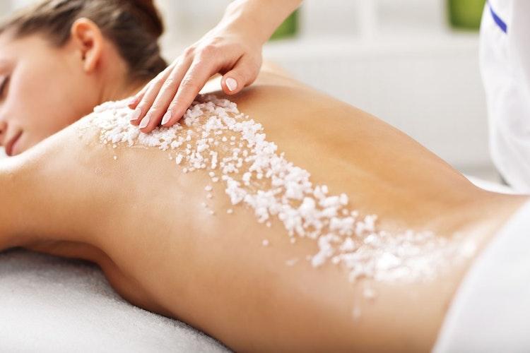 Salz ist eine natürliche Wohltat für die Haut. Foto: djdVerband der Kali- und Salzindustrie e.V.Getty