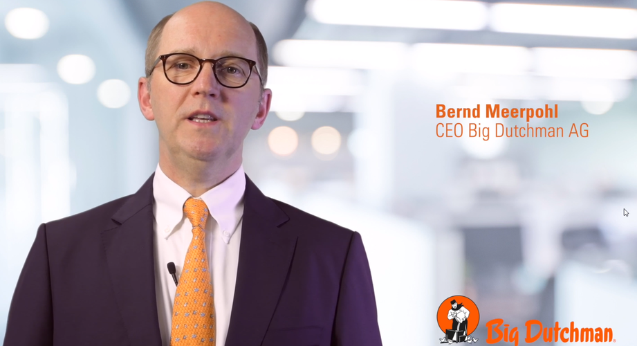 In einer Videobotschaft erläuterte Bernd Meerpohl der Belegschaft die aus seiner Sicht notwendigen Entlassungen. Screenshot: Böske