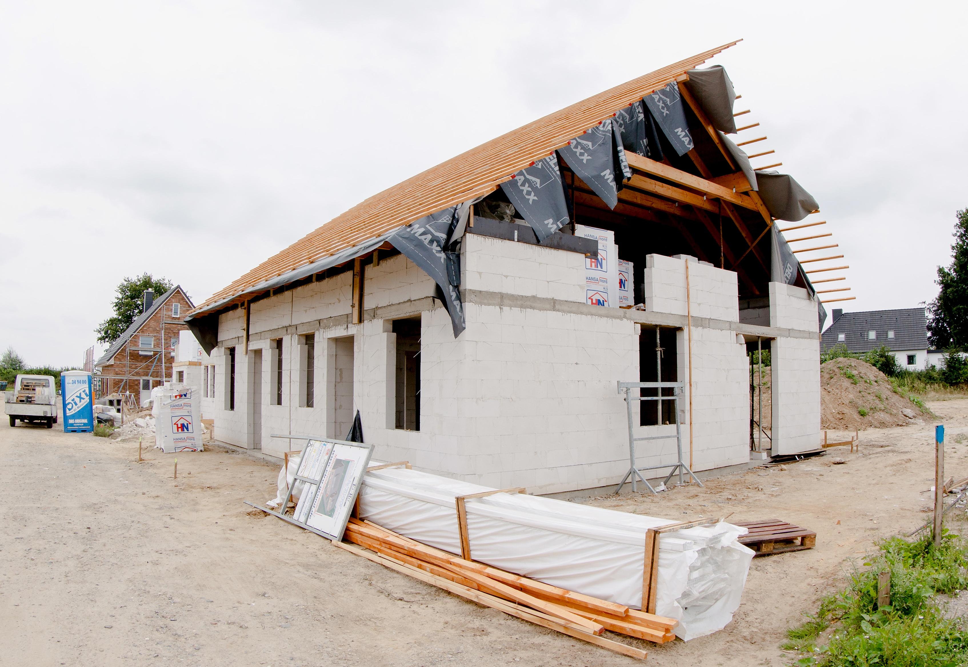 In Nellinghof soll demnächst gebaut werden dürfen. Foto: dpa/Scholz