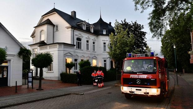 Historische Villa in Lohne gerät in Brand