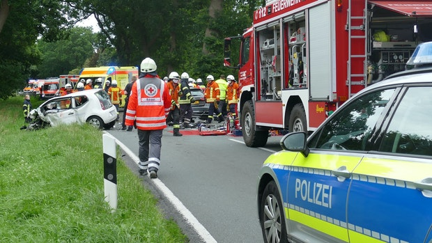 Saterländer stirbt bei Verkehrsunfall in Kampe-Ikenbrügge