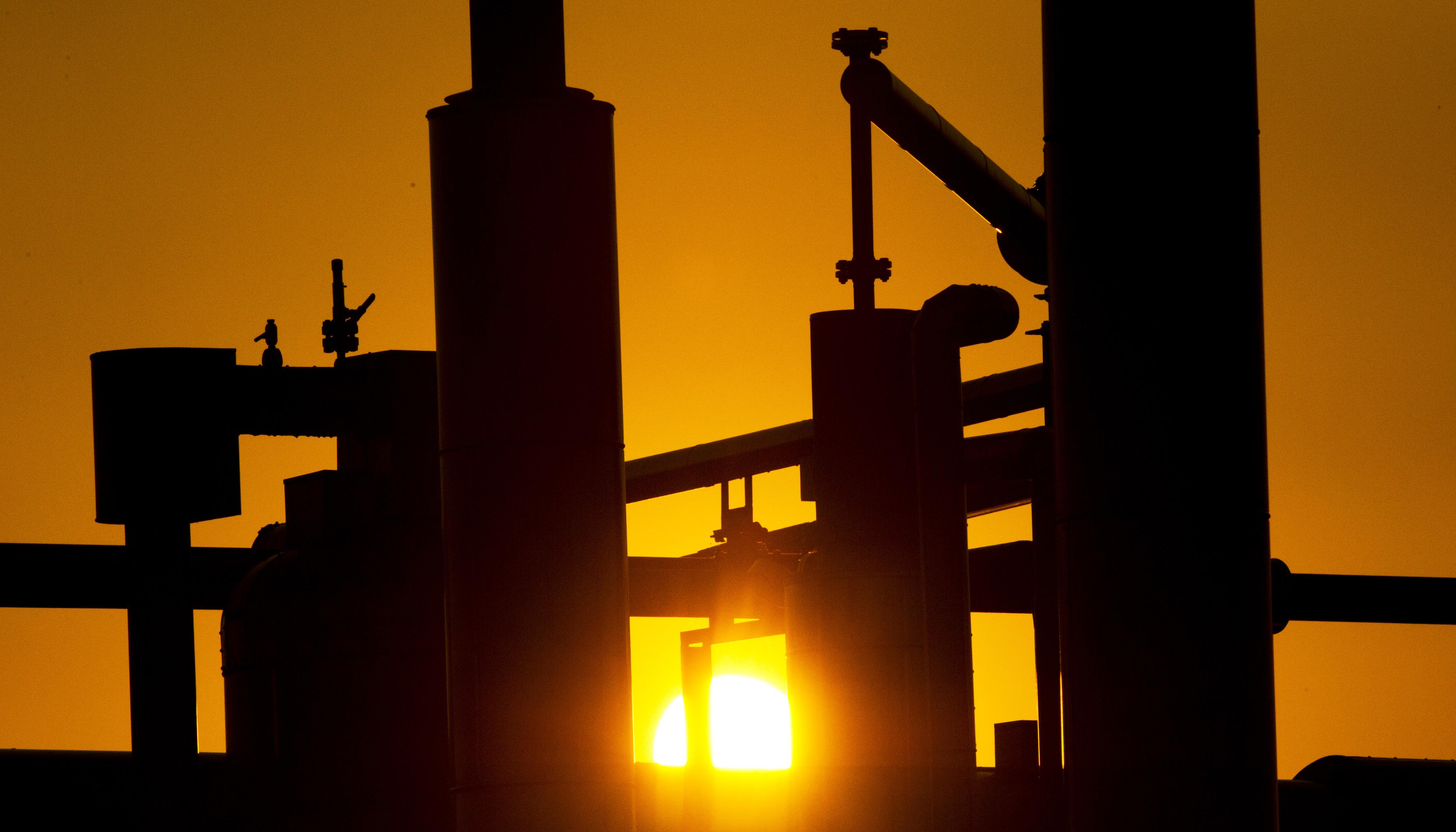 Erdgas-Förderanlage: Davon gibt es im Nordwesten von Niedersachsen viele. Foto: dpa/Reinhardt
