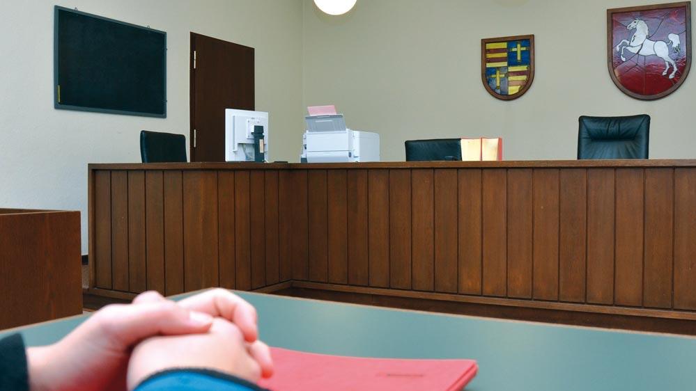 Komplexer Prozess: Durch Vorstrafen ist der Angeklagte schon belastet, seine Ex-Freundin sagt als Zeugin aus. Foto: Baensch