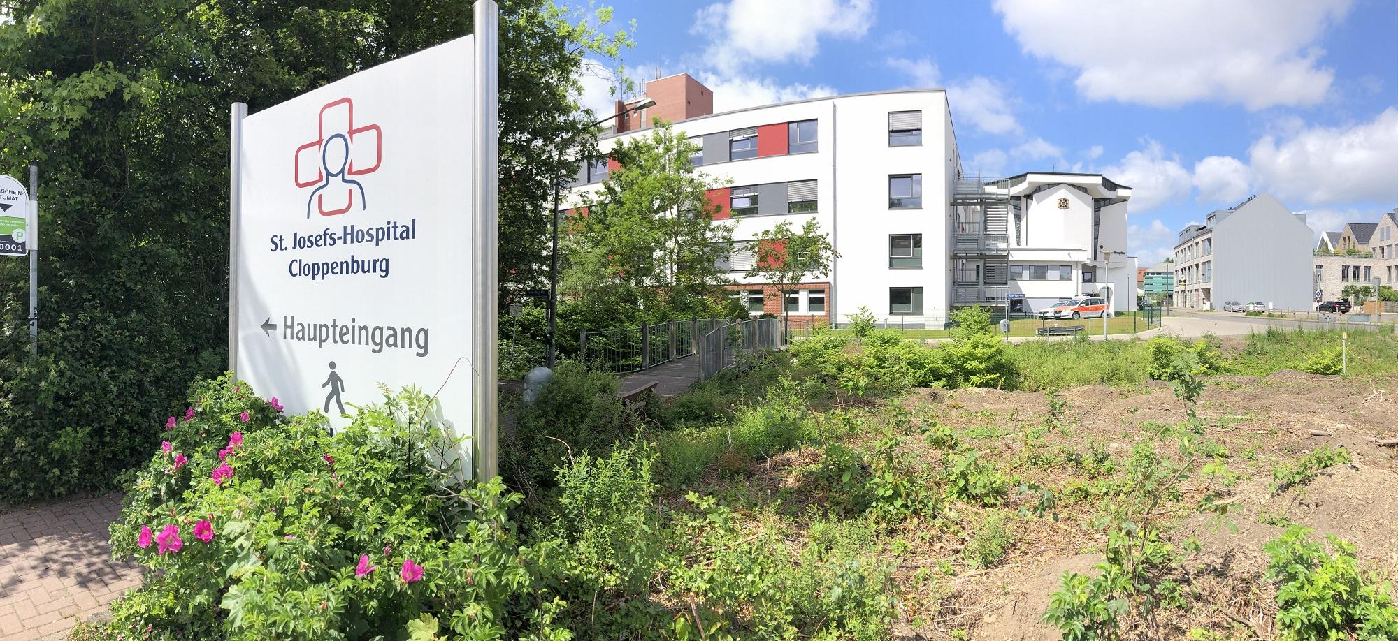 Besuchsverbot im Josefs-Hospital: Die Krankenhausleitung reagiert damit auf die hohen Infektionszahlen. Archivfoto: Hermes