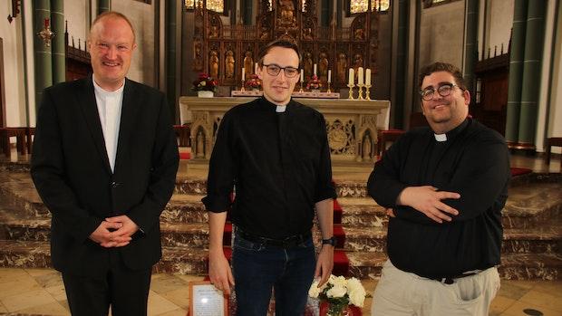 Fabian Guhr freut sich auf erste Kaplanstelle in Damme