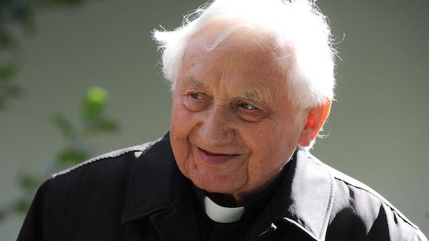 Papst Benedikts Bruder Georg Ratzinger ist tot