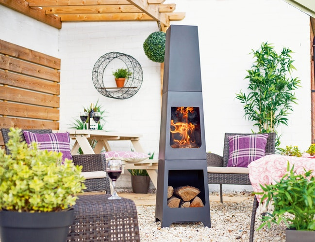Terrassenfeuer oder Gartenskulptur? Für das Modell Malmö gilt eindeutig beides. Foto: eprBuschbeck