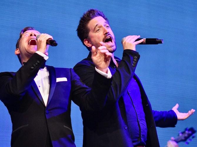 Mathias Schlung und Florian Hinxlage. Foto: M. Niehues