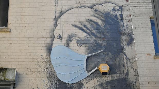 Neue Banksy-Bilder in der Londoner U-Bahn