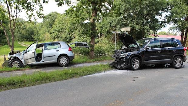 Zwei Leichtverletzte bei Unfall in Holdorf