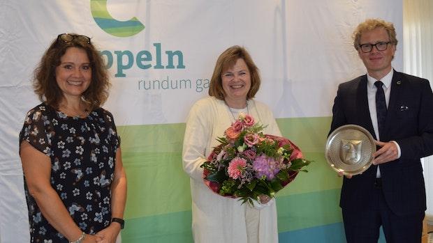 Gemeinde Cappeln ehrt Rektorin