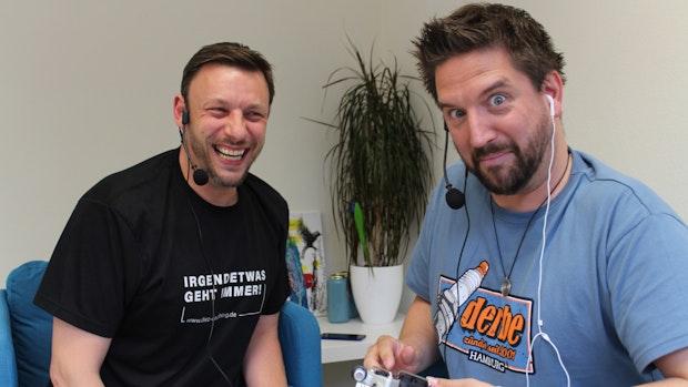 """Zwei Freunde, ein Podcast - """"Ne gute (Halb)Zeit"""" lang"""