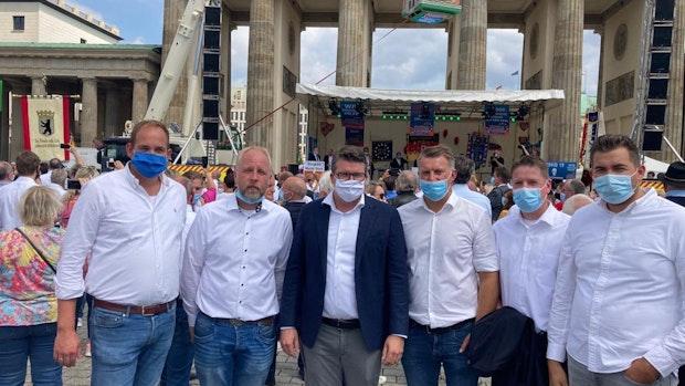 Vechtaer Schausteller protestieren in Berlin