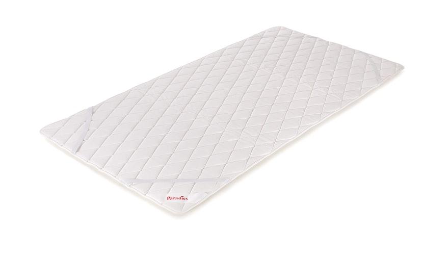 """Die 2-Seiten-Konstruktion der Matratzenauflage Cool Comfort Pad"""" überzeugt durch ihre einerseits aktiv kühlende und andererseits lüftende Funktion. Foto: eprParadies GmbH"""