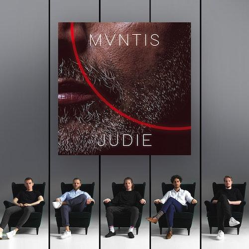Bereit für ihre nächste Single: Die Band MVNTIS mit (von links) Christoph Hinxlage, Alexander Falke, Patrick Albers, Samir Sakallah und Kilian Niemann. Foto: Bonnie Bartusch