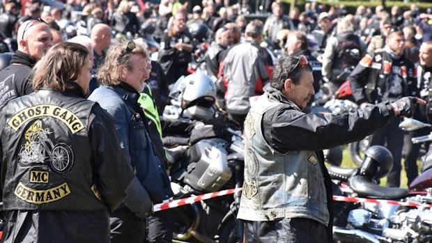 5000 Motorradfahrer demonstrieren in Vechta gegen Fahrverbote