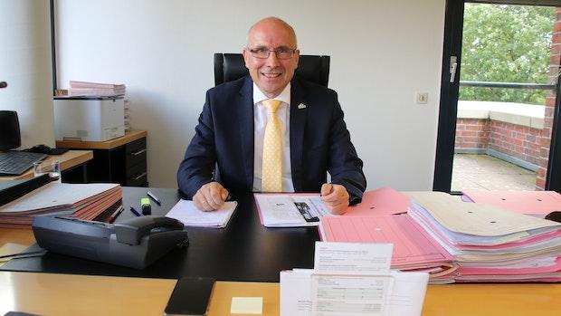 Dammes Bürgermeister Gerd Muhle hört nächstes Jahr auf