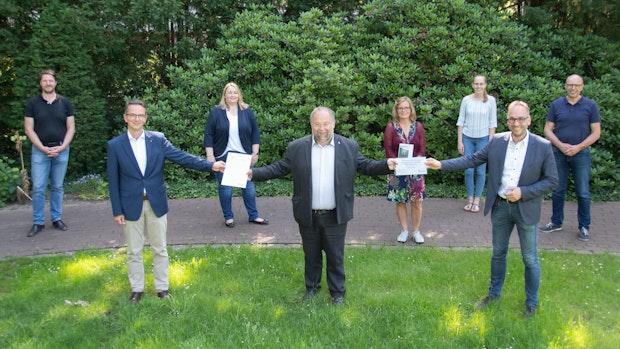 Caritas hat Umwelt-Zertifikat