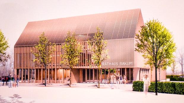 Bakum: So soll das neue Rathaus aussehen