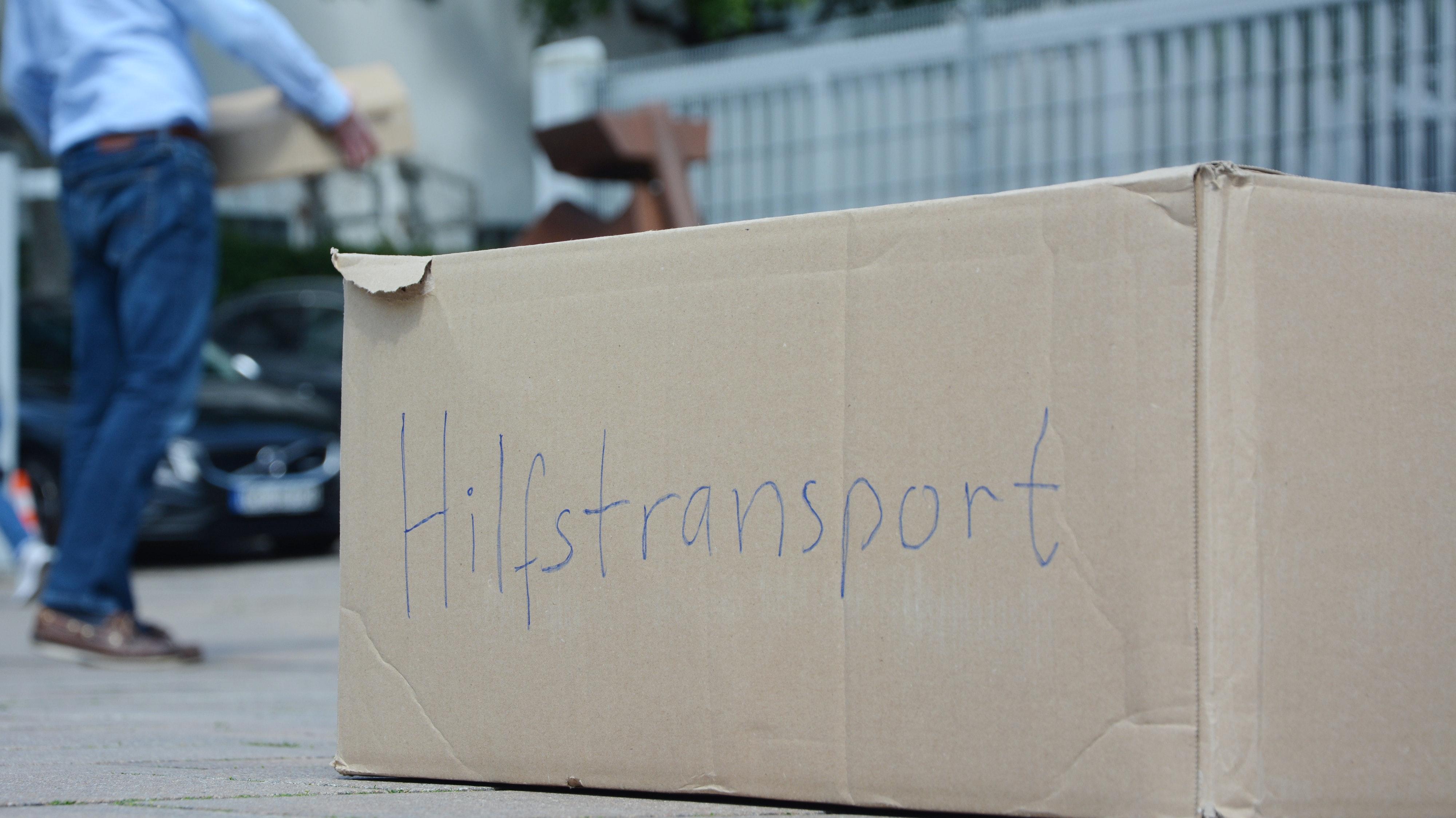 Im August startet der KKV wieder: Drei Mitglieder machen sich mit einem Hilfstransport auf den Weg nach Litauen. Symbolfoto: Hermes