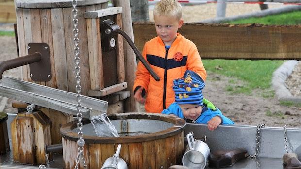 """""""Wasser marsch"""" im Tierpark Thüle"""