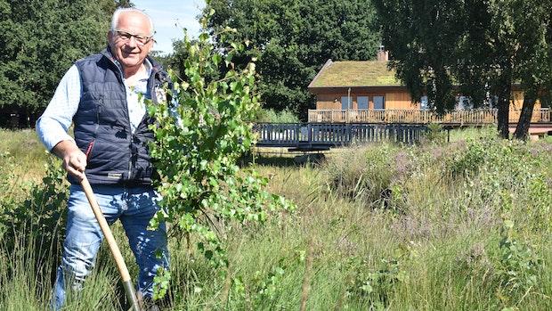 Als Rentner will Meyer noch einige Bäume ausreißen