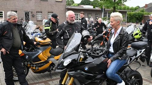 Silvia Brehers Stimme ist Bikern sicher