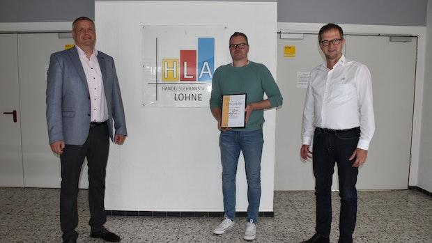 Handelslehranstalten Lohne erhalten Auszeichnung