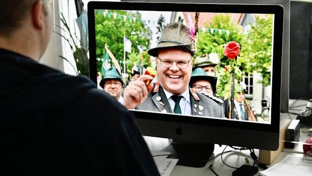 Lohner Schützen feiern ihr Fest am Bildschirm