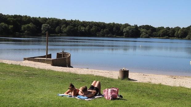 Baden im Hollener See ist wieder erlaubt