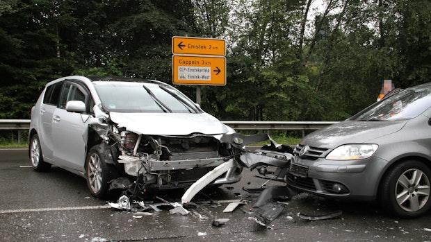 Emsteker bei  Unfall schwer verletzt