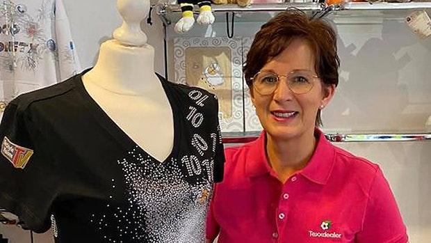 Claudia Schomaker hat Spaß an Kreativität und Design