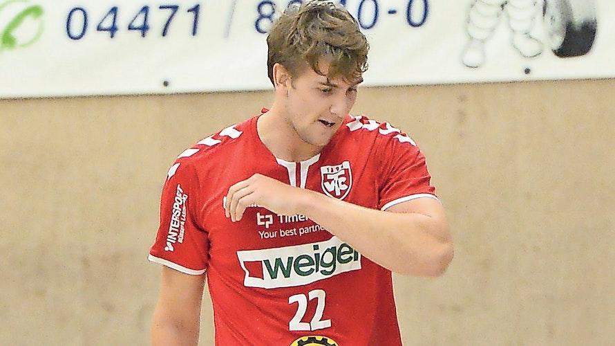 Kurioses Debüt: Jeppe Villumsen sah nach nur vier Minuten Spielzeit die Rote Karte. Foto: Langosch