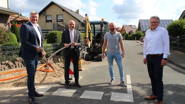 Glasfaser: Netzausbau in Damme-West startet
