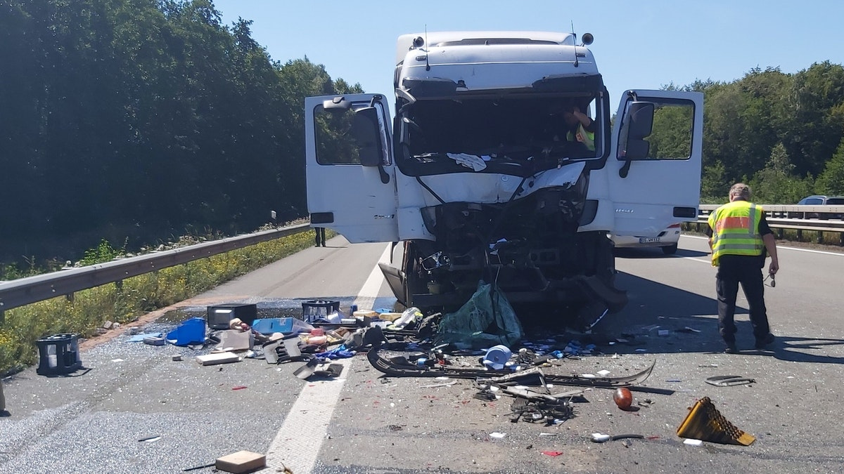 A1 Unfall Holdorf