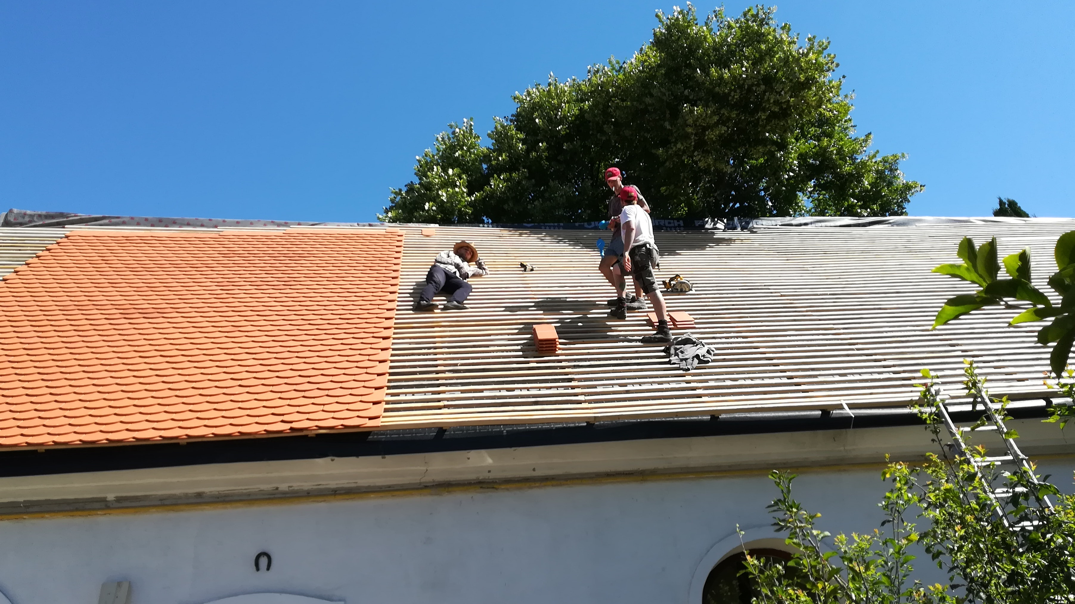 Ein neues Dach fürs Kinderheim: Die Sanierung in Alba Iulia ist mittlerweile abgeschlossen. Das Projekt wurde durch Spenden aus dem Landkreis Vechta finanziert. Foto: Nordlohne