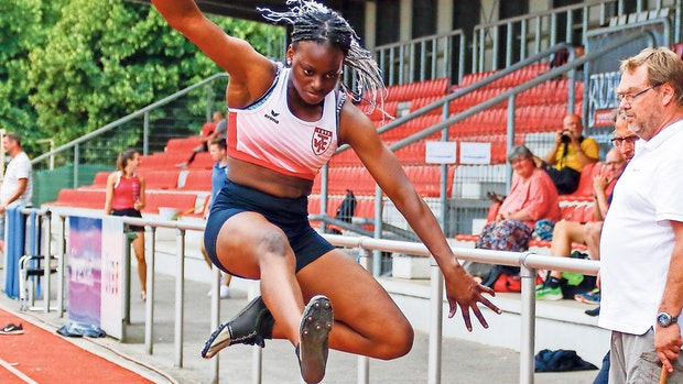 Nadia Wema pulverisiert Sprint-Bestleistung
